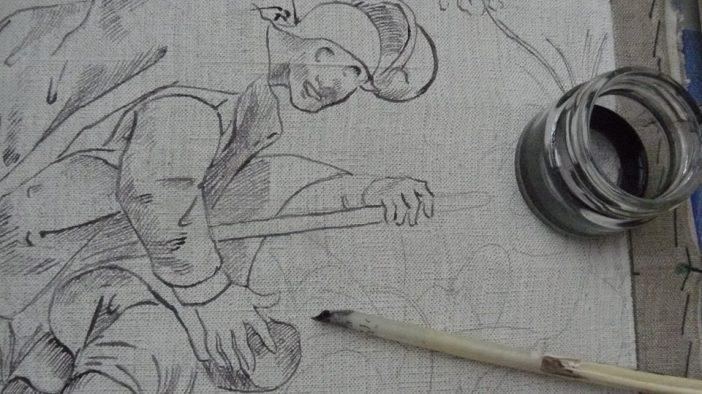 Pieter bruegel pen-inkt