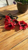 Gevilte bloemen